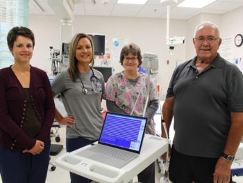 Guthrie County Hospital Foundation Donates Funds for an EKG