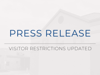 Guthrie County Hospital Visitor Restrictions Updated