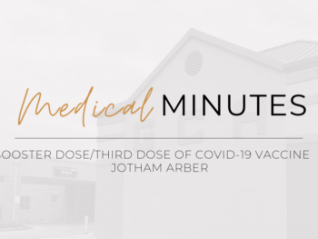 Booster Dose/Third Dose of COVID-19 Vaccine